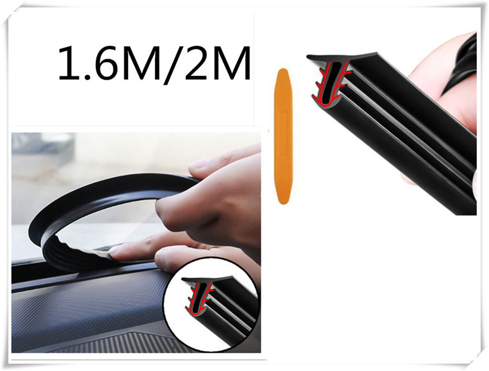 car SUV interior center console sealed soundproof leak-proof strip for Honda FCX Brio 3R-C Skydeck P-NUT Legend