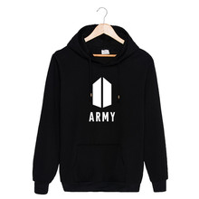 ALIPOP KPOP Korean Fashion BTS Bangtan Boys 2017 New Album AMAY Logo Cotton Hoodies Hat Clothes Pullovers Sweatshirts PT550