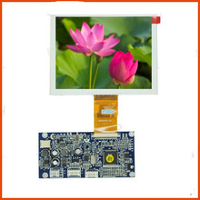 5.0 inch color TFT display Support VGA, AV signal input / OSD menu adjustment/Screen flip mirror LCD screen