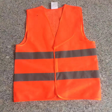 FGHGF Free Shipping Visibility Security Safety Vest Jacket Reflective Strips Work Wear Uniforms Clothing 2 Color Hot Sale(China)
