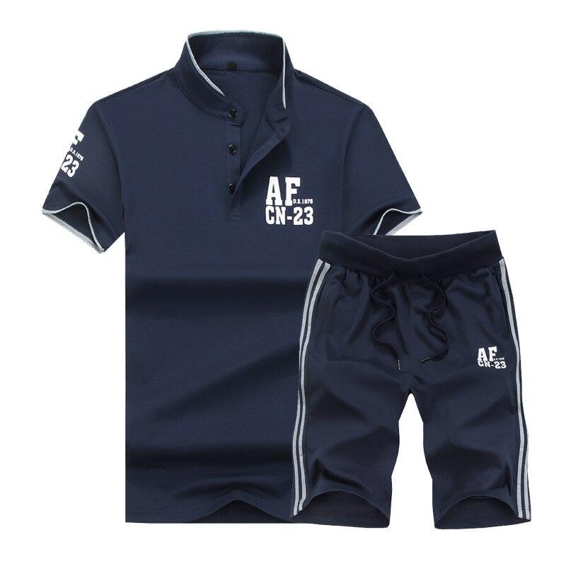 Summer-Mens--Shirts-Tracksuit-Men-Shorts-Set-Fashion-Fitness-Clothing-Track-suit-Men-Short-Sleeve