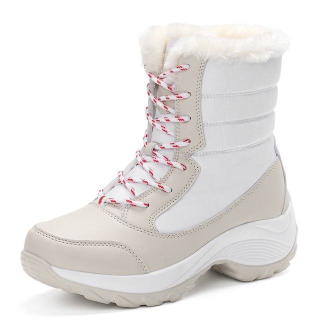 Hot sale women winter boots warm waterproof casual shoes plush snow ankle boots quality sapato feminino plus size 35-41 1617<br><br>Aliexpress
