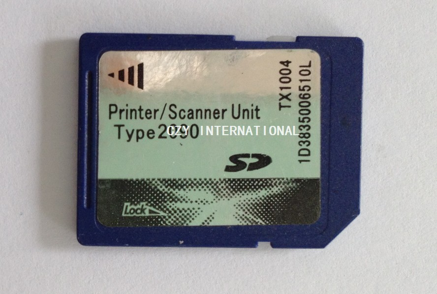For  Richo 2090 scanner kit printer card MP2090 sd card<br>