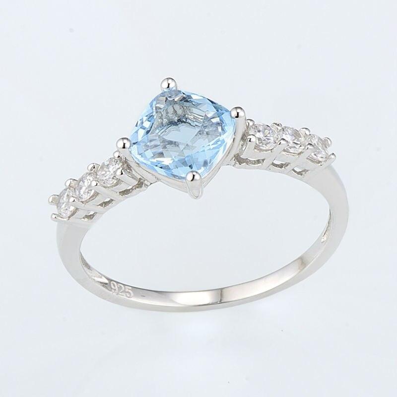 R301105BLGZSL925-Silver Ring-