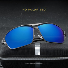 2017 New men's polarized sunglasses frog mirror fishing glasses driving sunglasses inside the blue film sunglasses 253