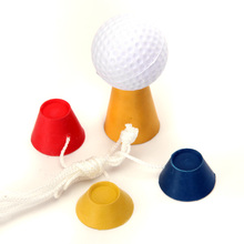 High Quality 4Pcs Jumbo Rubber Winter Golf Tees Driver Home Range Ball Training Practice Outdoor Sports Golf Tees Accessory