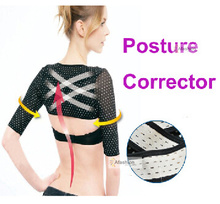 high quality women Shoulder posture corrector support brace belt for the back Simulator thin hand Massage cuff orthotics Strap(China)