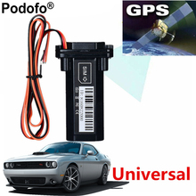 Podofo Waterproof GPS Tracker Vehicle Tracking Device Motorcycle Car Mini GPS GSM SMS locator with Real Time Tracking System