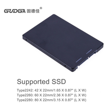 "B key M.2 NGFF to SATA 3.0 adapter card with metal housing M.2/NGFF SSD to 2.5"" SATA 3.0 SSD adapter"