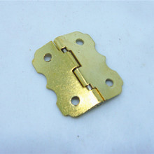 50pcs 25 * 20mmSmall hinge closing cabinet hinges butterfly hinge wooden wine box  90 degrees