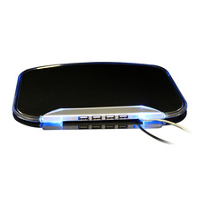 Four in One USB HUB luminous mouse pad built-in data cable