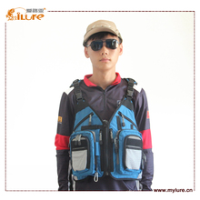 New Arrival ilure Blue Series Free Shipping  Fishing Tackle Bag Backpack For Fishing Life Jacket BP301