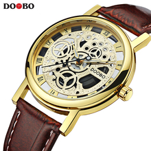 DOOBO Wristwatches Fashion Casual Wrist Watch Men Top Brand Luxury Male Clock Quartz Watch for Men Hodinky Relogio Masculino(China)