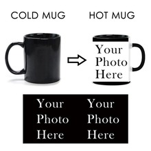 Customized Hot Cold Water Heat Activated Mugs Coffee Tea Color Change Magic Mug With The Text Or Image Good Gift Ceramics Mug