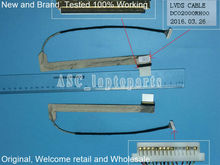 "New Original LCD LED Video Flex Cable For LENOVO G550 G555 15.6"" Laptop Screen Display Cable DC02000RH00"