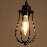 Grapefruit Chandelier Industrie Wind Stil Halogen Drop Lampe Schlafzimmer Nachttischlampen Wohnzimmer Antike Eisen Shade