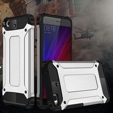 Case For Xiaomi Mi5 Slim Fit TPU Silicon Hard PC Back Tank Armor Case Shockproof Phone Cover For Xiaomi Mi 5 M5 Pro Prime Cheap