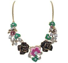 Europe and the United States jewelry fashion cute small fresh flowers necklace accessories jewelry