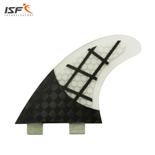 High quality fiberglass Honeycomb carbon Quilhas surf fins pranchas de surf fcs thruster fcs fins SUP surfboard fins G5 for surf(China)