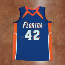 #42 Al Horford Florida Gators College Basketball Jersey Embroidery Stitched Custom Any Name and Number isiah thomas(China)