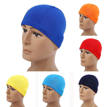 Adults Children Kids Elastic Fabric Ears Protection Sports Swim Pool Surfing Shower Hat Swimming Cap Free size for Men & Women(China)