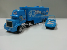 Pixar Cars Mack Uncle & No.43 King Diecast Metal & Plastic Toy Car Loose 1:55 Brand New In Stock & Free Shipping