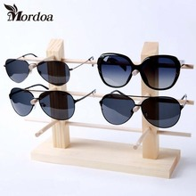 10/8/6/6/5/4/3/2/1 Wood Sunglasses Racks For Glasses Fashion Sunglasses Wooden Display Eyewear Stand Bamboo Holder Sunglasses(China)