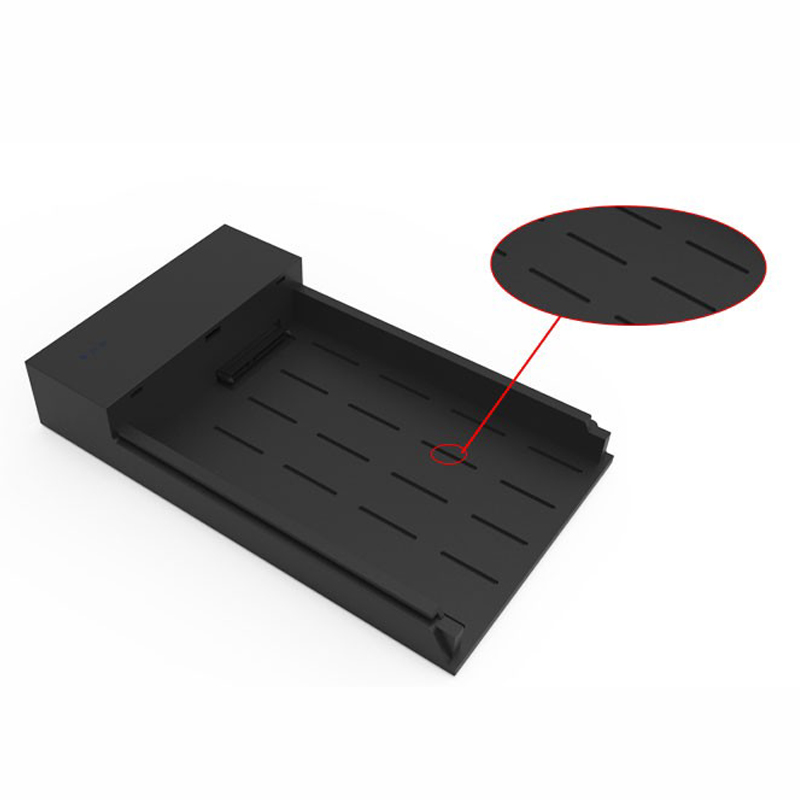 send from RU high speed USB 3.0 case sata for 6TB hard disk tool free hdd Enclosure portable (2)