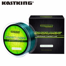 KastKing 550M 4LB-30LB 100% Nylon Fishing Line 5 Colors Ultrathin and Strong Monofilament Fishing Line for Sea Fishing