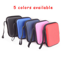 "Zipper organize hand bag Case Pouch Protector For 2.5"" WD Seagate HDD Hard Disk Drive2.5 external hard drive cases  GH1328"