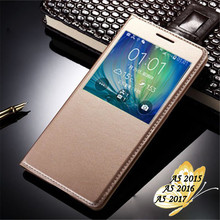 Buy Samsung A5 2016 Case Flip Luxury Open View Window Cover Samsung Galaxy A5 2016 Case PU Leather A510 Funda Phone Cases for $2.99 in AliExpress store