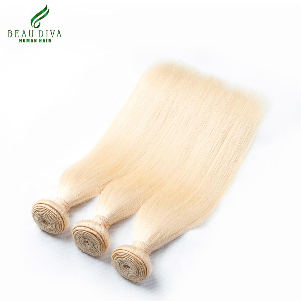 613 Blonde Virgin Hair 3Pcs Lot 7A Brazilian Virgin Hair Straight Human Hair Weave Cheap Blonde Brazilian Hair Weave Bundles<br><br>Aliexpress
