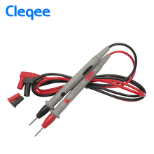 Cleqee P1501 needle tip probe conductors of test pin hot universal digital multimeter tester meter lead probe wire pen cable 20A(China)