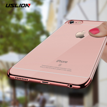 Buy USLION Ultrathin Silicon Clear Phone Case iPhone 8 8 Plus Transparent Soft TPU Back Cover Cases Coque iPhone 6 6s 7 Plus for $1.27 in AliExpress store