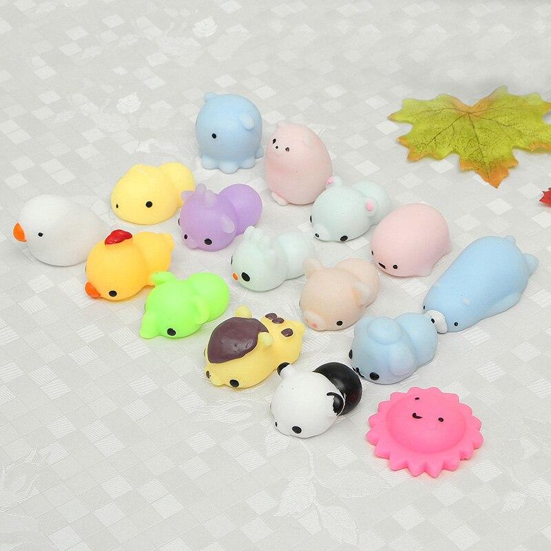 New 16 Pcs Mini Cute Mochi Animals 8