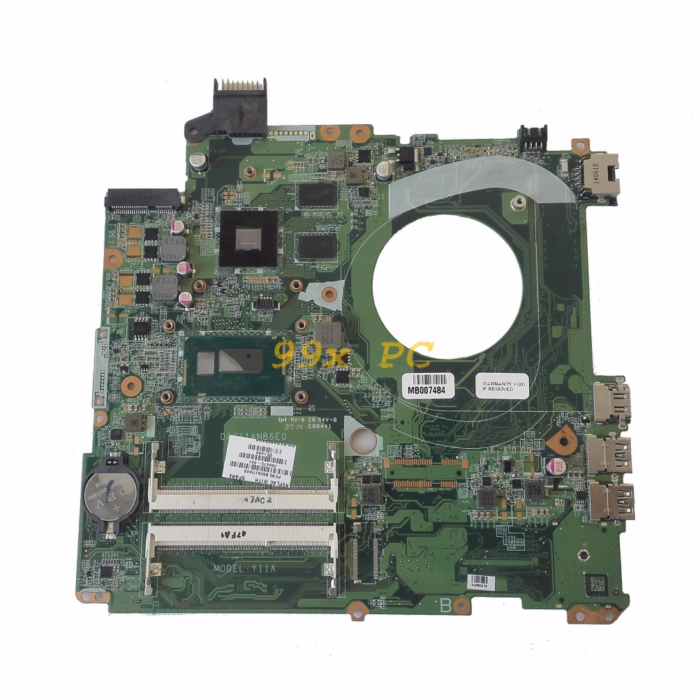 LAOKE FOR HP Pavilion 15-P Laptop Motherboard W/ I5-4210U CPU 766473-001 766473-501 DAY11AMB6E0 W/ 840M 2GB GPU DDR3 Test ok