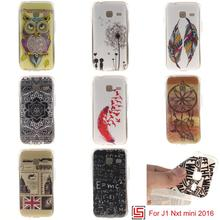 Fashion New Best Ultra Thin TPU Silicone Soft Phone Cell Mobile Case carcasa capa coque Cover For Samsung Galaxy J1 mini 2016(China)