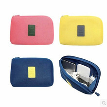 System Kit Case Portable Digital Electronic Accessories Storage Bag Pouch For Cosmetic Gadget Devices USB Cable Earphone