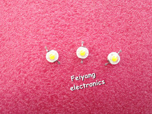 50 PCS/Lot Real the Chip 3 w LED bulbs Diodes Lamp Beads 180 lm - 200 lm White(China)
