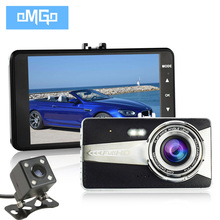 Full hd 1080p parking recorder video registrator 4.0 inch IPS dual lens car camera auto dvr camcorder cars dvrs carcam dash cam