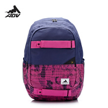 Adventteam Hard Wearing urban backpack Men's rucksack large capacity with laptop compartment college schoolbag skateboard bag