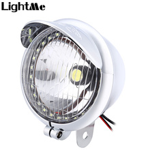 Universal Motorcycle Lamp Motorbike Bright LED Frog Light DC12V Aluminum Alloy Energy Conservation Great Vibration Resistance
