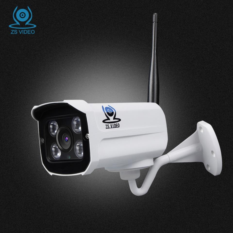 ZSVEDIO Surveillance Cameras Alarm System HD IP Camera CCTV Camera WIFI IP Cameras Wi-Fi Waterproof Night Vision Device Webcam<br>