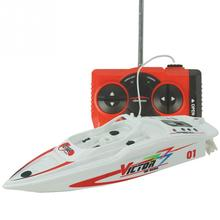 RC boat Create Toys 3392 27MHz/40Mhz High Speed Pool RTR RC Racing Mini Electric Sport Boat gift For children Toys Kids Gift(China)
