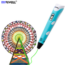 Myriwell RP-100B 3D Printer Pen 3D Printing Drawing Pen Creative Gift For Kids gifts Design Painting Drawing
