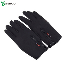 Best price! Screen Touch Outdoor Gloves Unisex Winter Warm Mittens Windproof Gloves Outdoor Cycling Skiing Hiking Luvas GSM023(China)