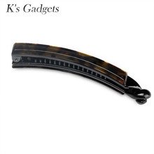 K's Gadgets Fashion Jewelry Tiara Hair Banana Clips Barrette Cellulose Acetate Hair Accessories For Women Hairwear