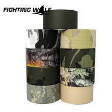5CMx10M Camo Wrap Outdoor Hunting Shooting Bionic Tape Waterproof Camouflage Tactical Military Gun Rifle Shoutgun Accessories