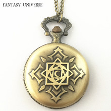 FANTASY UNIVERSE Freeshipping wholesale 20pc Vampire Knight pocket watch Necklace AQA03