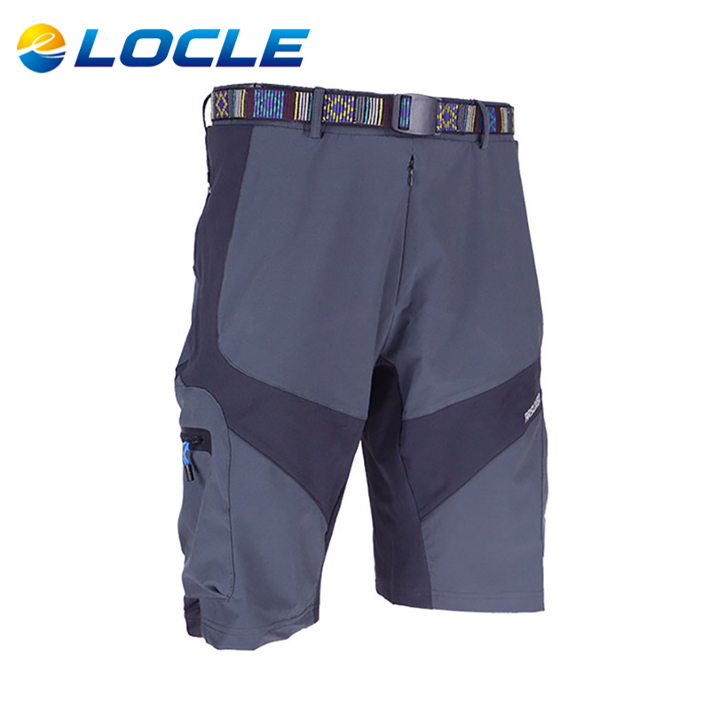 LOCLE Breathable Mountain Road Bike Bicycle Shorts Jersey Anti-sweat Wear Clothes Outdoor Sports Loose Fit Cycling MTB Shorts<br><br>Aliexpress